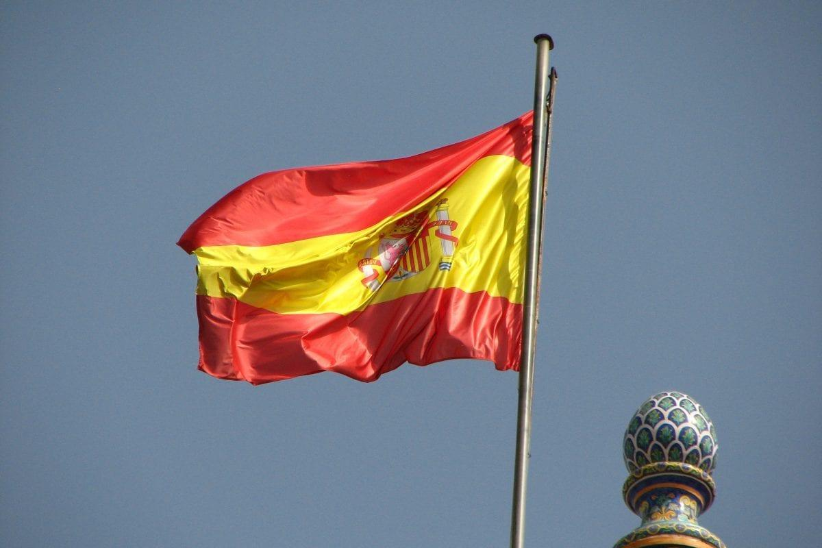 Spanish Flag [Flickr: fdecomite]
