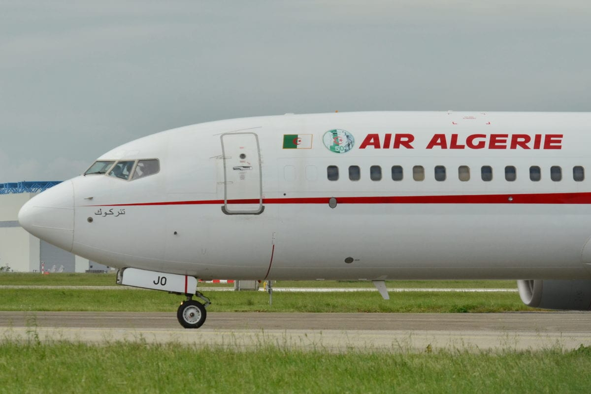 Air Algerie flight