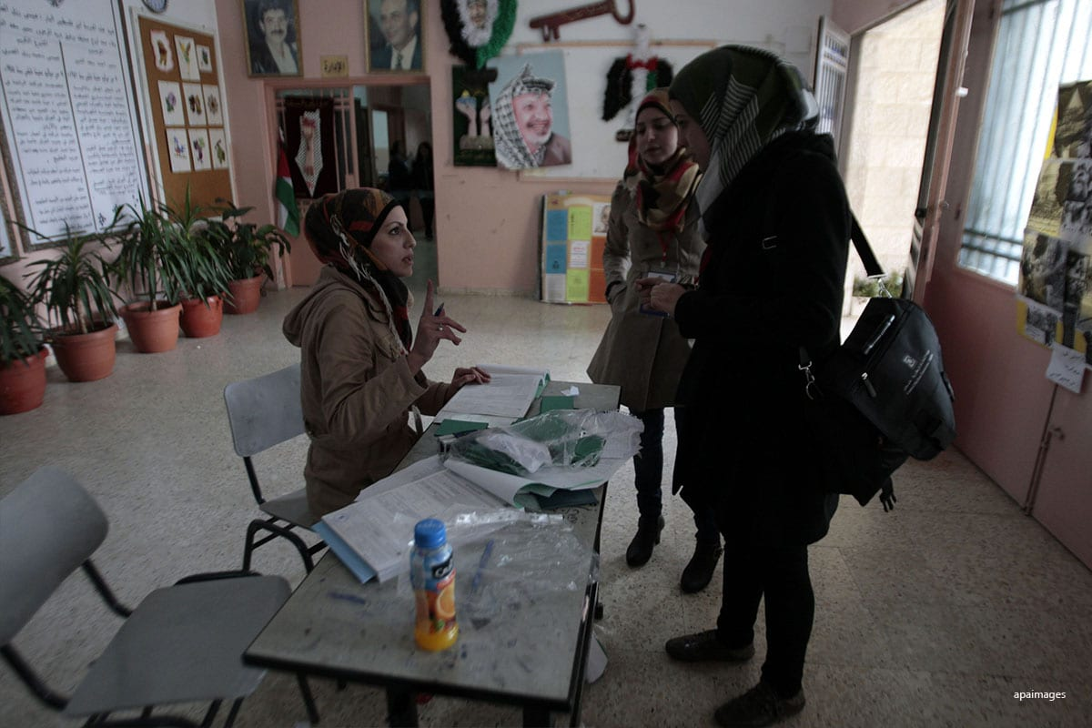Palestine group says information about election false