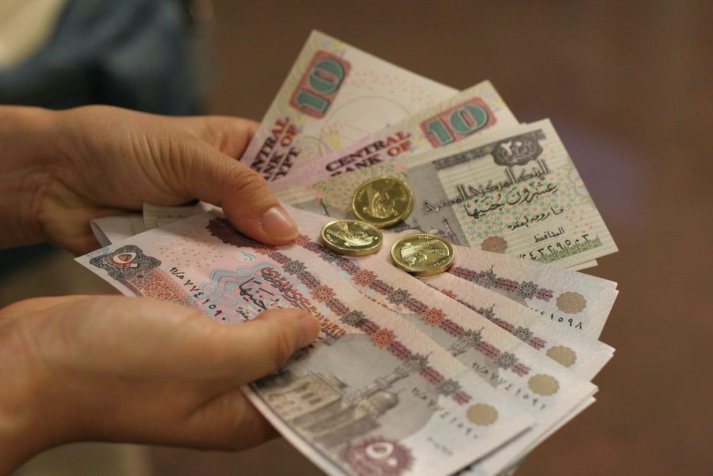 Egyptian currency [Flickr/Emi Moriya]