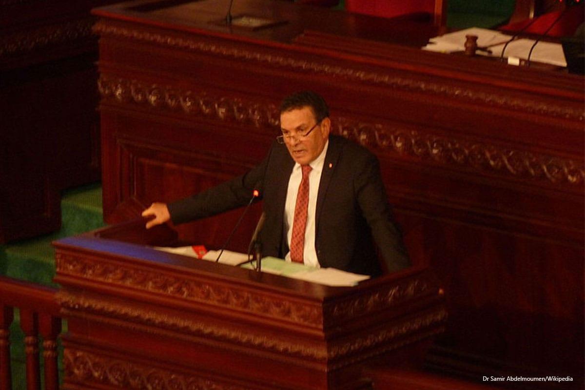 Tunisia's National Defence Minister, Farhat Horchani [Dr Samir Abdelmoumen/Wikipedia]