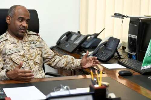 Maj. Gen. Ahmed Al-Assiri, spokesman of the Saudi-led Coalition supporting the government of Yemen [file photo / SPA]