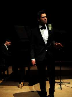 Omar Kamal performing Frank Sinatra's 'Nancy With the Laughing Face'