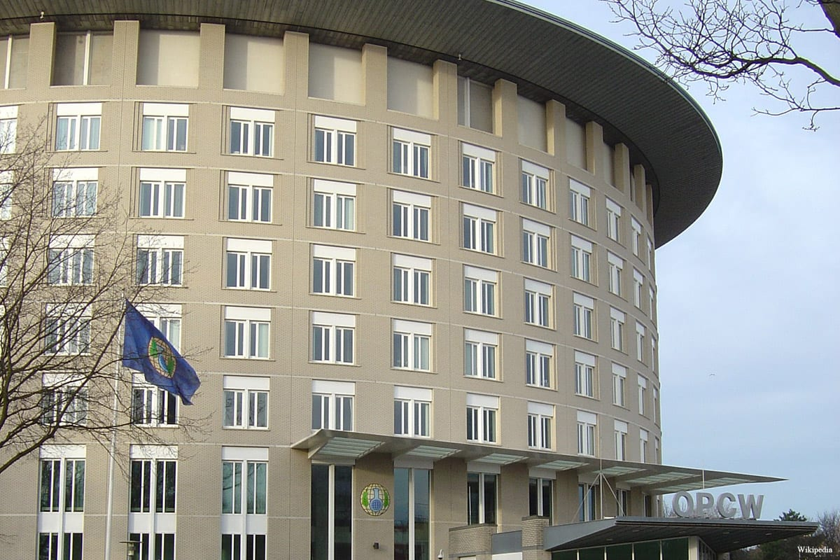 Main office building of the Organization for the Prohibition of Chemical Weapons (OPCW)