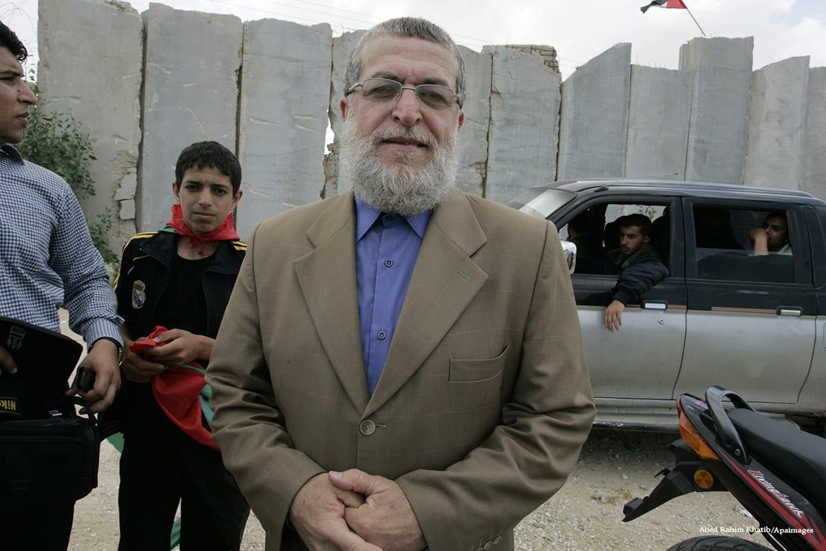 Palestinian Senior Jihad Islamic leader, Nafez Azzam on the 15th May 2011 [Abed Rahim Khatib/Apaimages]