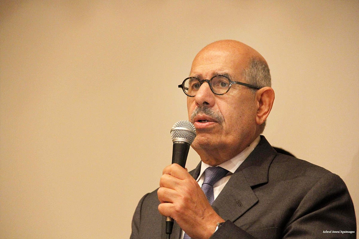 Baradei: Security forces threatened me during Rabaa sit-in ...