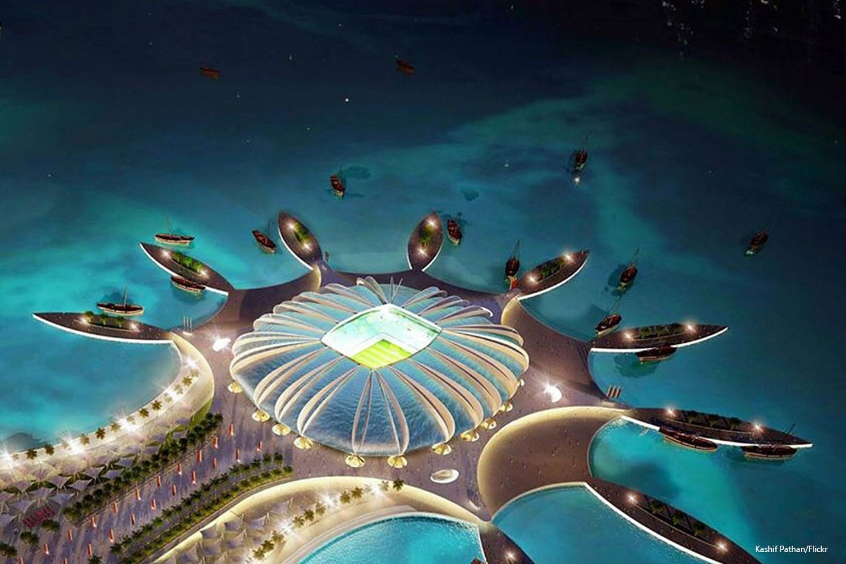 Qatar 2022 FIFA World Cup Stadium photo taken on 24th August 2014 [Kashif Pathan/Flickr]