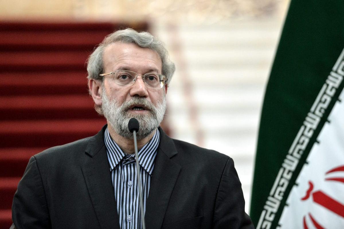 Chairman of the Parliament of Iran, Ali Larijani in Tehran, Iran on 13 November 2016 [Fatemeh Bahrami/Anadolu Agency]