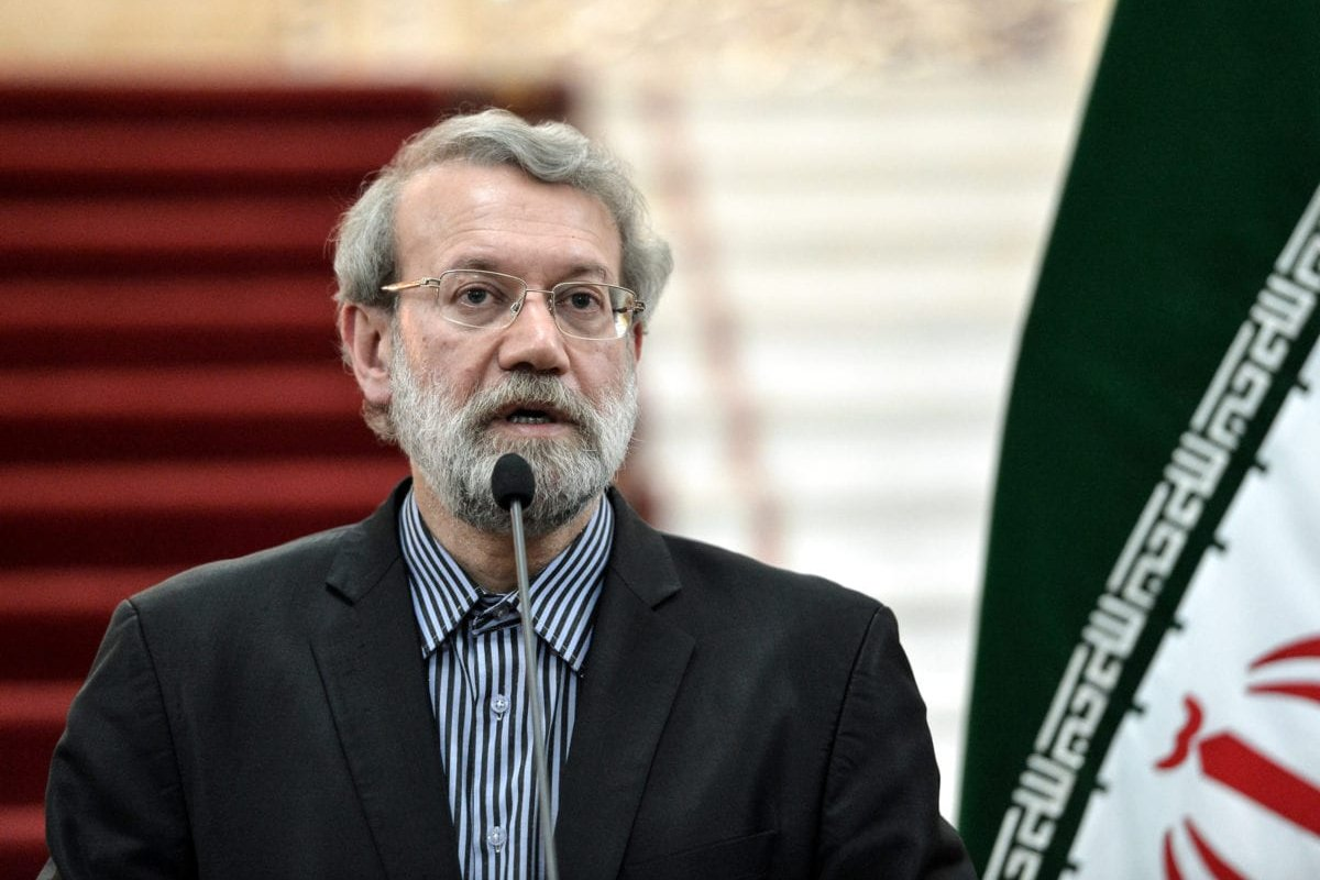 Speaker of the Iranian Parliament, Ali Larijani in Tehran, Iran on 13 November 2016 [Fatemeh Bahrami/Anadolu Agency]
