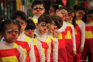 Children being children as they mark UN Universal Children's Day in Gaza [Ashraf Amra/Apa Images]