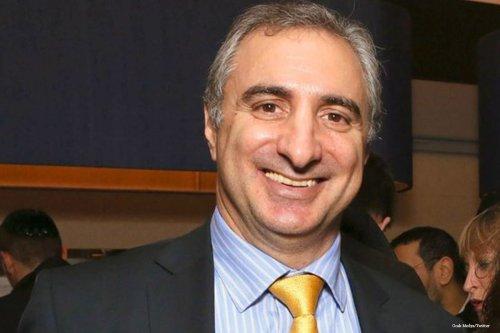 Eitan Na'eh, Israel's ambassador to Turkey [Ocak Medya/Twitter]