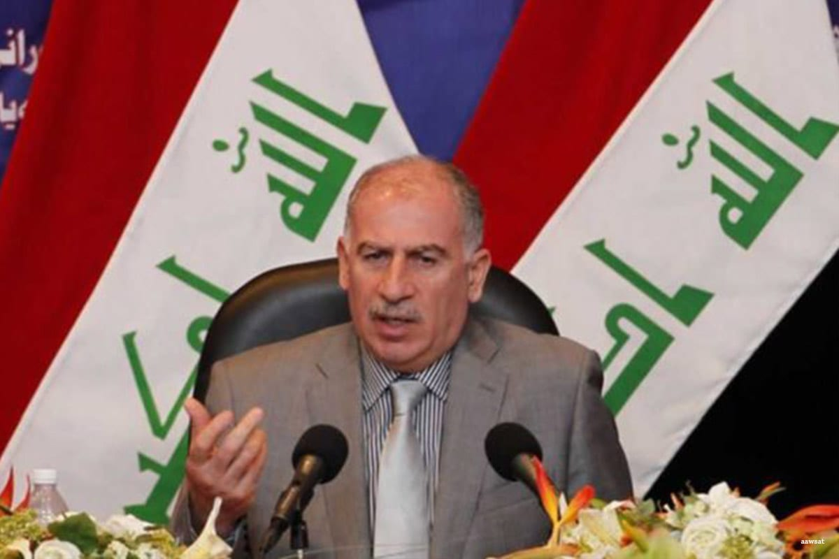 Iraqi Vice President Osama Al-Nujaifi [Awsat]