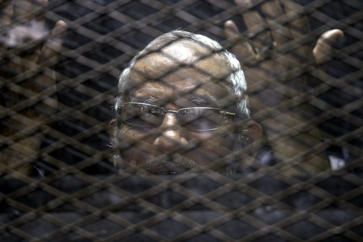 Image of Muslim Brotherhood member, Mohammad Badi, in Cairo, Egypt on November 24, 2016 [Moustafa Elshemy/Anadolu Agency]