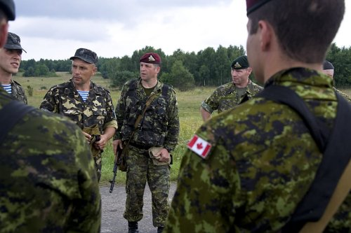 Canadian forces [US Army Europe/Flickr]