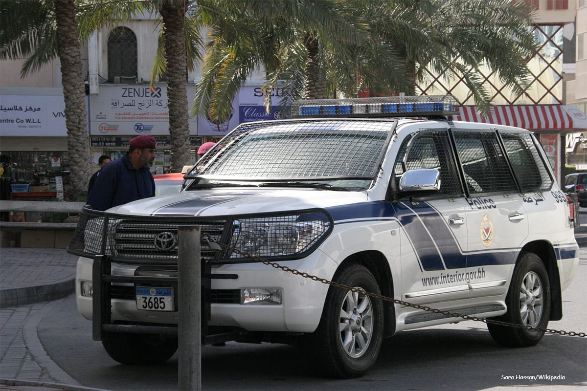 Bahrain police vehicle [Sara Hassan/Wikipedia]