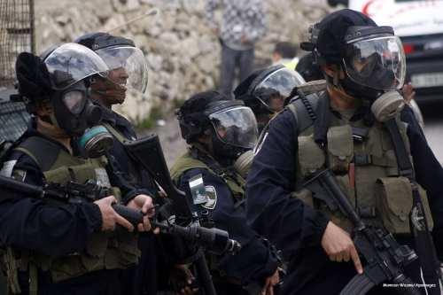Image of Israeli policemen [Mamoun Wazwa/Apaimages]
