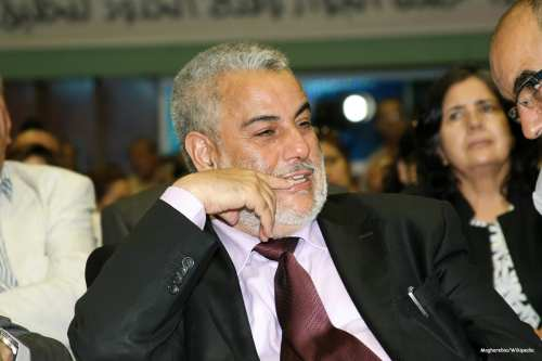 Image of Moroccan prime minister Abdulilah Benkirane [Magharebia/Wikipedia]