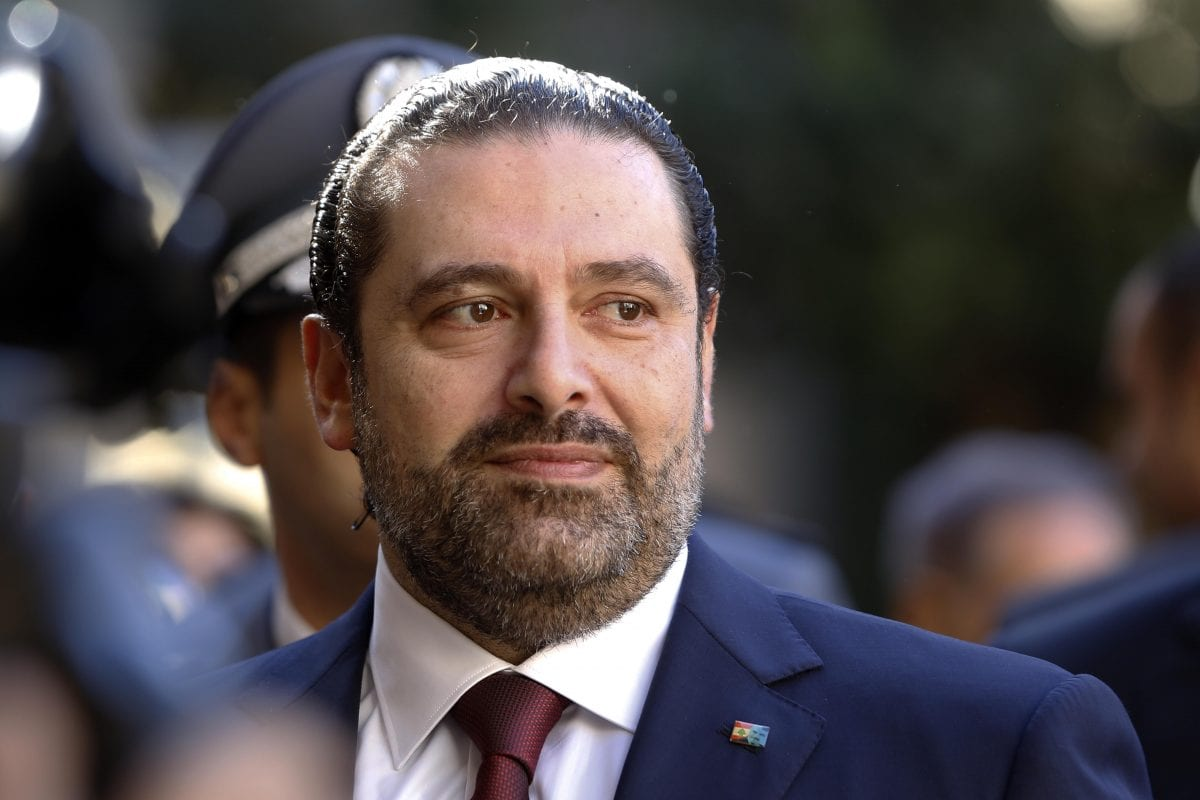 Image of Lebanon's Prime Minister Saad Al-Hariri on 20 December 2016 in Beirut, Lebanon [Ratib Al Safadi/Anadolu Agency]
