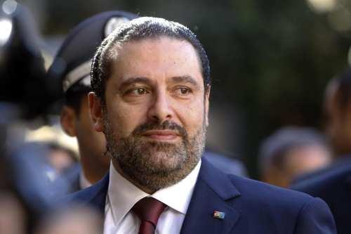 Image of Lebanon's Prime Minister Saad Al-Hariri on 20 December 2016 in Beirut, Lebanon [Ratib Al Safadi/Anadolu Agency]