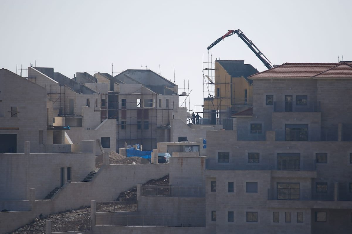 Pisgat Ze'ev and Ramat Shlomo settlements in east and south Jerusalem, December 2016 [Daniel Bar On/Anadolu]