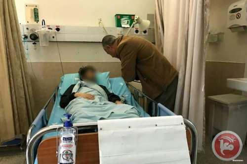 Image of the hunger-striking Palestinian prisoner Anas Shadid [Maannews]