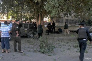 The aftermath of the bomb blast in Egypt on 9th December 2016 [alarabiya.net]
