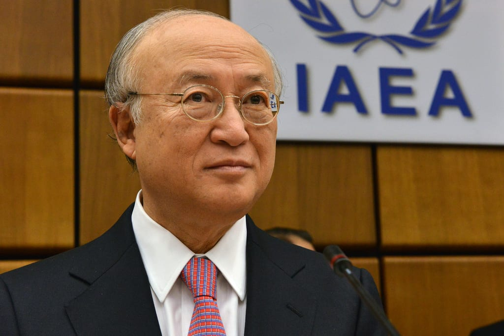 IAEA Director General Yukiya Amano [IAEA Imagebank/Flickr]