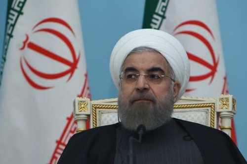 Image of Iranian President Hassan Rouhani [Vahram Baghdasaryan/Anadolu Agency]
