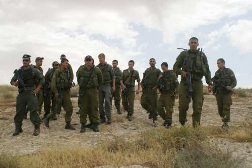 Israeli soldiers. [Najeh Hashlamoun/APA Images]