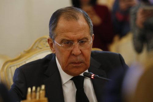 Russia's Foreign Minister Sergey Lavrov [Sefa Karacan - Anadolu Agency ]