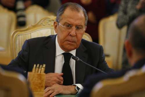 Russia's Foreign Minister Sergey Lavrov [Sefa Karacan - Anadolu Agency]