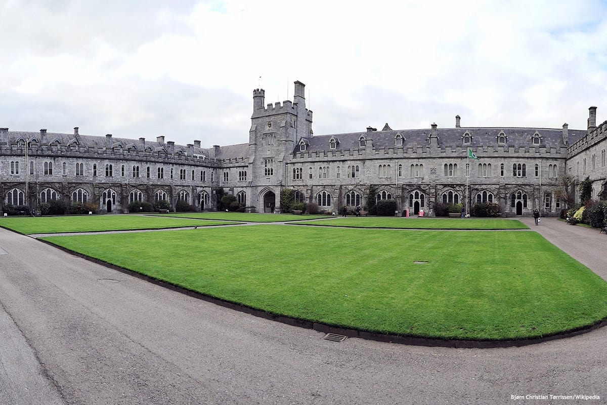 Image of an Irish university [Bjørn Christian Tørrissen/Wikipedia]
