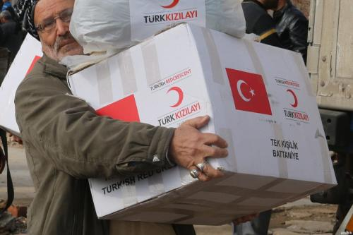 Turkish Red Crescent sends food aid to war-weary Yemen