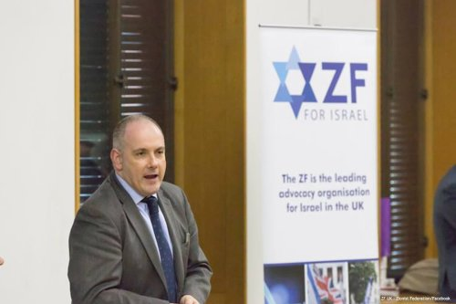 Image of Robert Halfon, the Conservative MP for Harlow and Minister of State for Education [ZF UK - Zionist Federation/Facebook]
