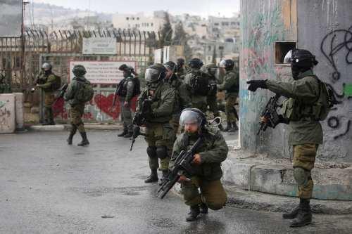 Image of Israeli security forces (İssam Rimawi - Anadolu Agency )