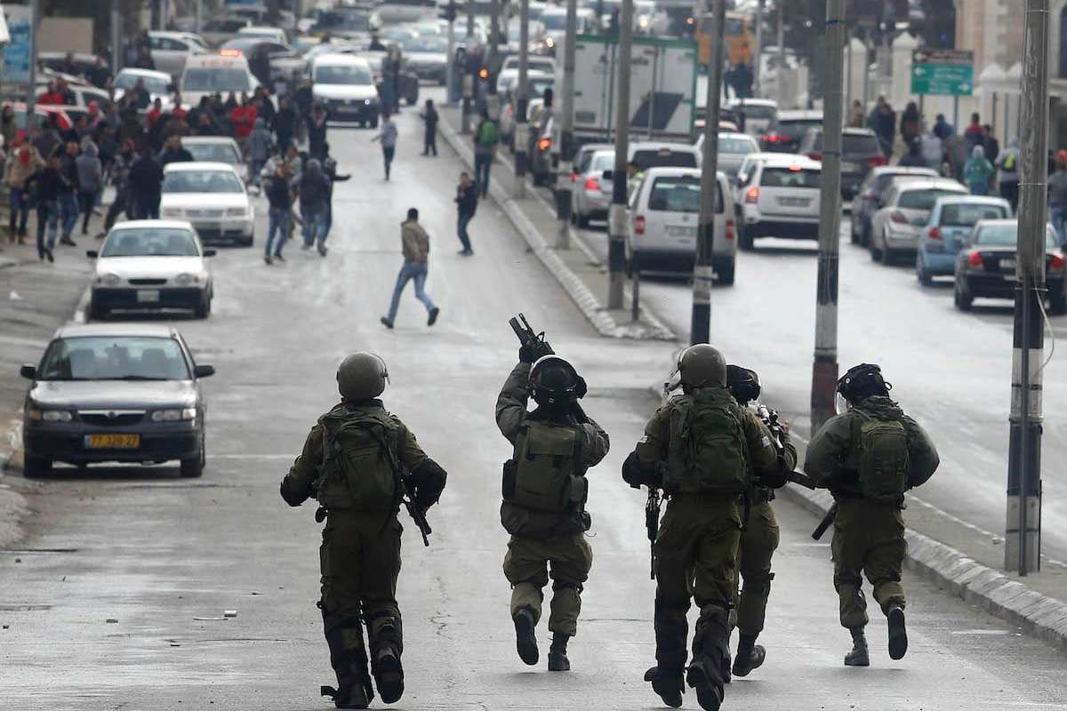 Violent clash between Israeli security forces and Palestinians in West Bank, Israel (İssam Rimawi - Anadolu Agency )