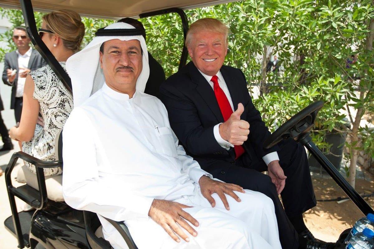 ... of Hussain Sajwani and President-elect Donald Trump [alkhaleejonline