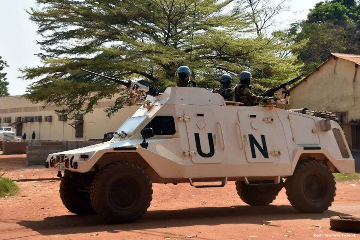 File photo of UN peacekeepers in Morocco [OneFortune News/Facebook]