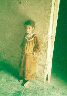Image of Abeer Qassim Al-Janabi at seven years old