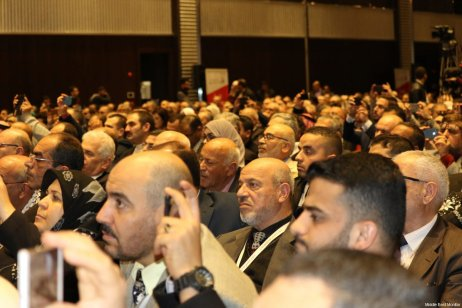 Image from the Palestinians Abroad conference in Istanbul, Turkey on February 26, 2017 [Middle East Monitor]