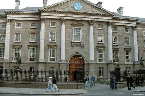 Image of Trinity College in Dublin, Ireland [ Jasonm/Wikipedia]