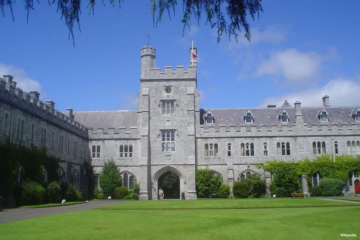 Image of University College Cork in Ireland [Wikipedia]