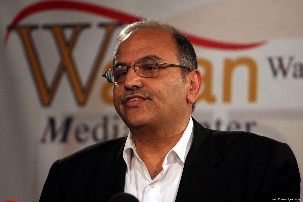 Image of Hani al-Masri [Issam Rimawi/Apaimages]