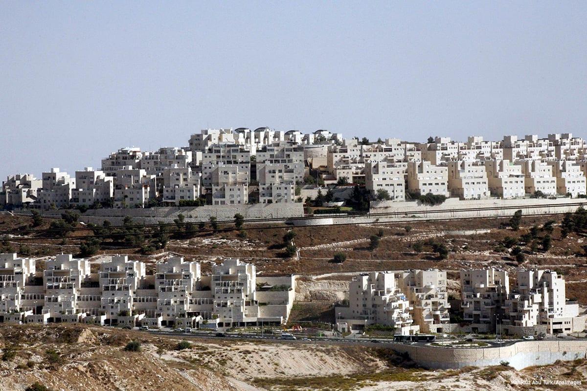 Image of Jewish settlement [ Mahfouz Abu Turk/Apaimages]