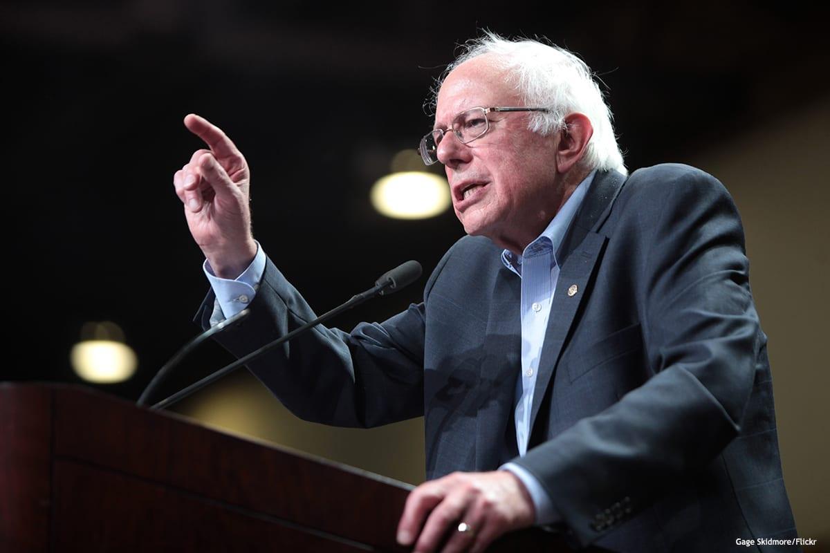 Image of Former US presidential candidate Bernie Sanders [Gage Skidmore/Flickr]