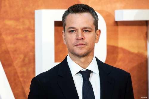 Image of Oscar winner Matt Damon [Facebook]