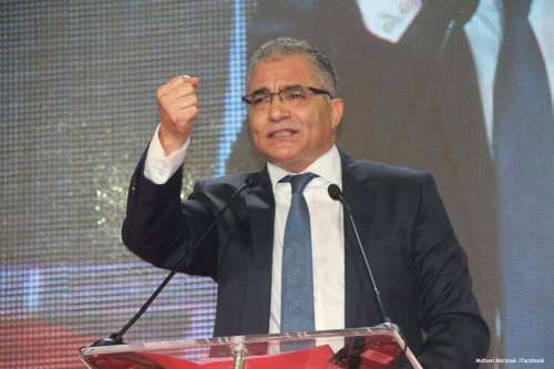 Image of Tunisian politician Mohsen Marzouk [Mohsen Marzouk /Facebook]