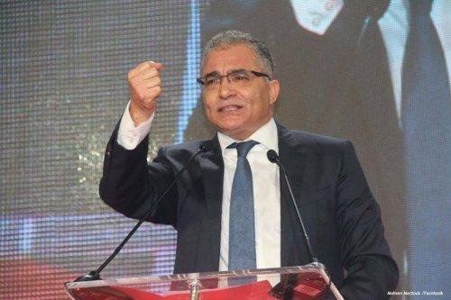 Image of Tunisian politician Mohsen Marzouk [Mohsen Marzouk /Facebook]