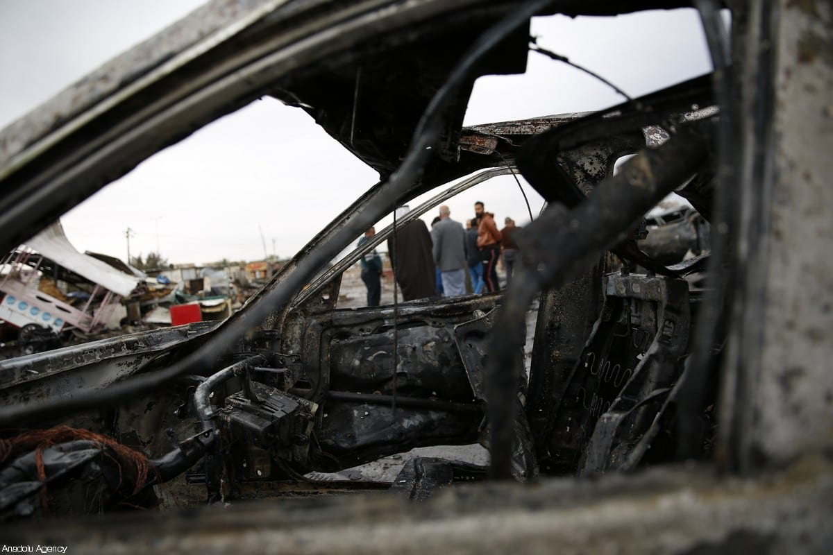 23 killed in auto  bomb in Baghdad