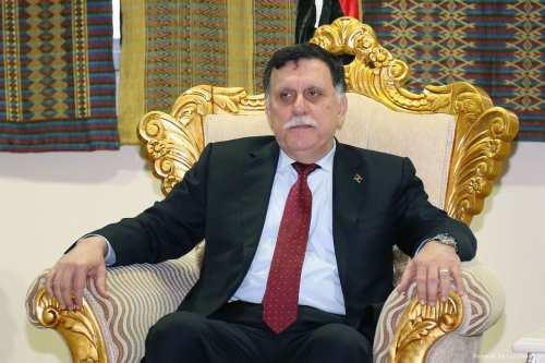 Prime Minister of the Government of National Accord of Libya, Fayez al-Sarraj [Minasse Wondimu Hailu - Anadolu Agency]